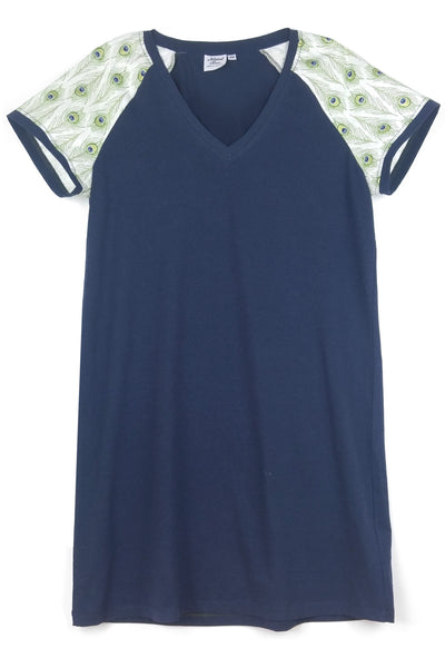 V-Neck Signature Tee Dress