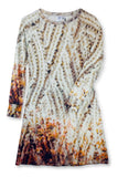 """Knitty"" Print Dress"