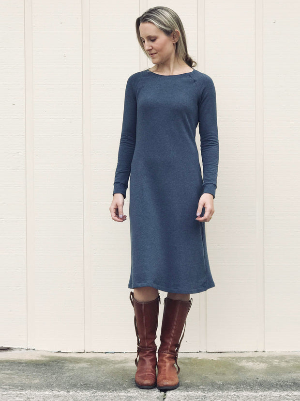 Fall/Winter Stretch French Terry Dress