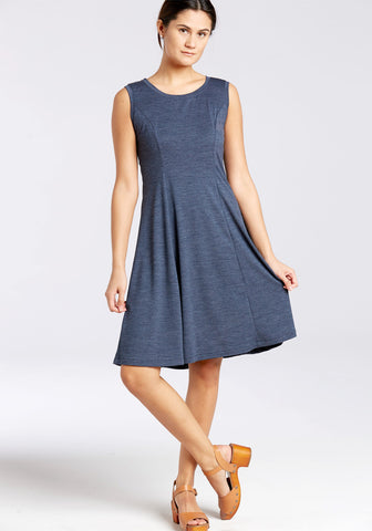 Sleeveless Merino Dress SHORT
