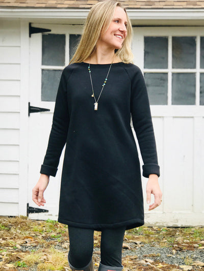 Sweatshirt Dresses, Cotton