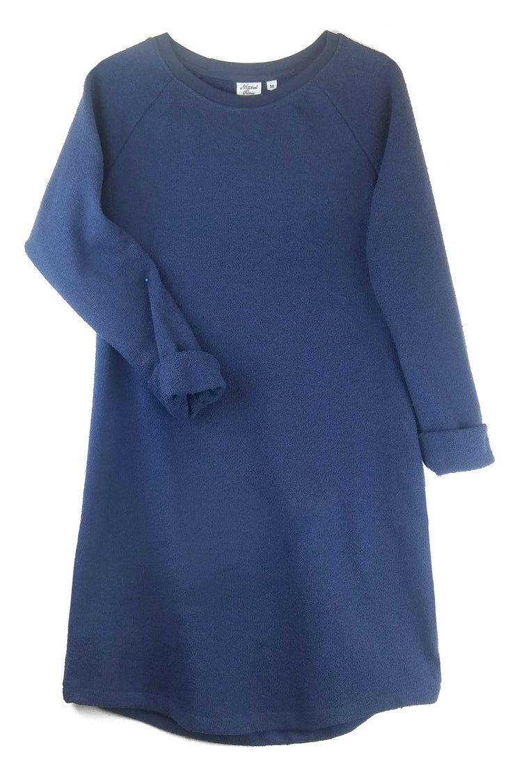 Sweatshirt Dress, Cotton Bouclé