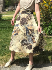 Apron Tie Wrap Skirt, in prints