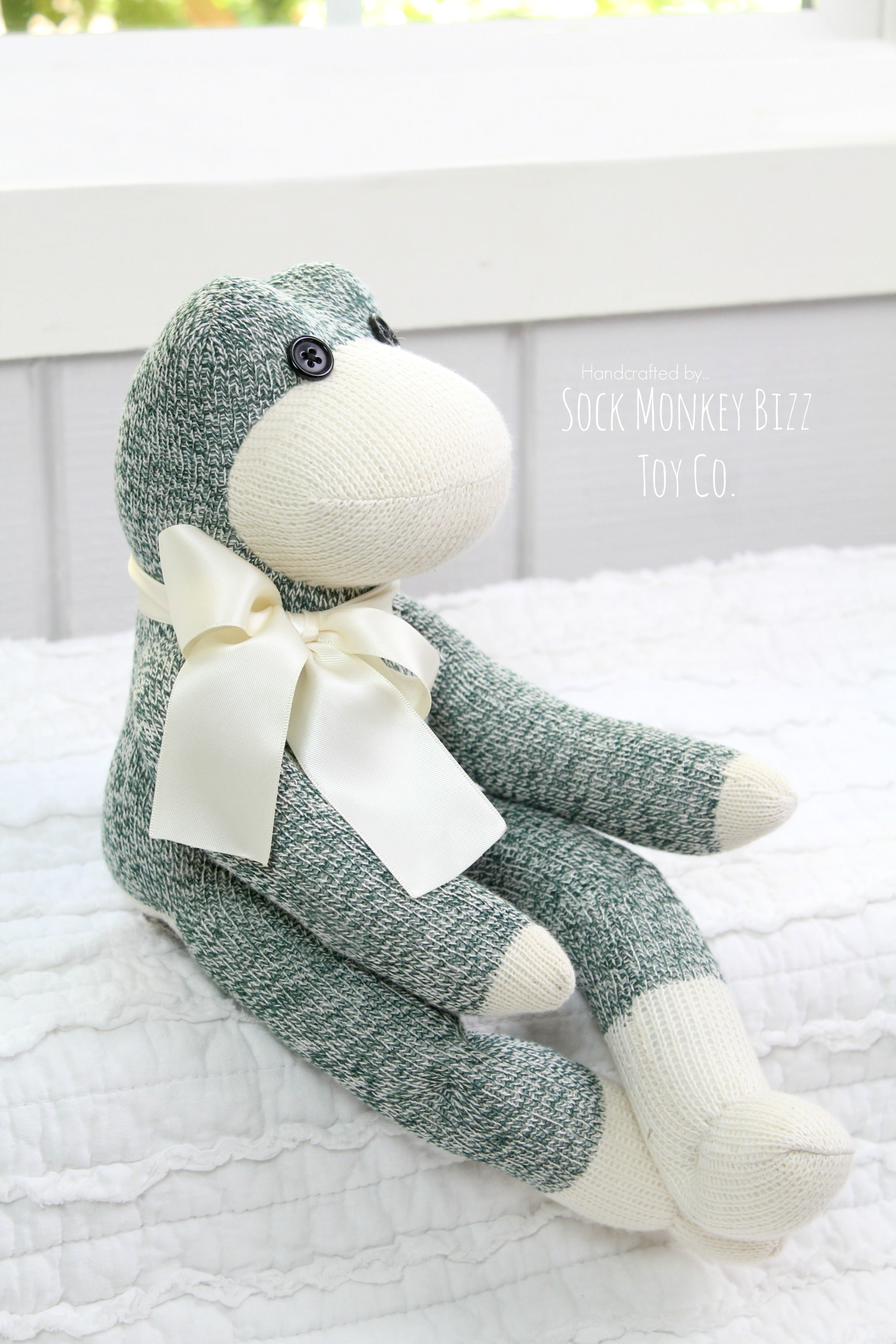 Frog Doll - Handmade Plush Toy