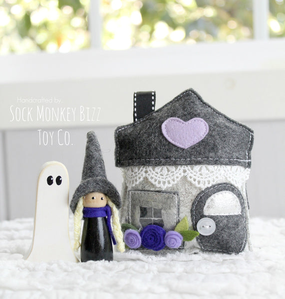 Haunted House Pixie Witch and Ghost Playset