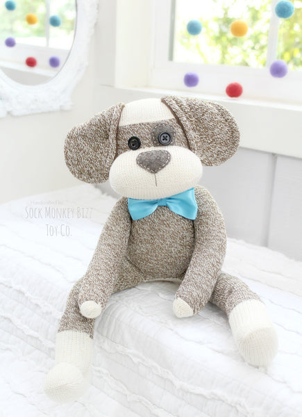 Spot Sock Puppy Dog Doll, Child's Plush