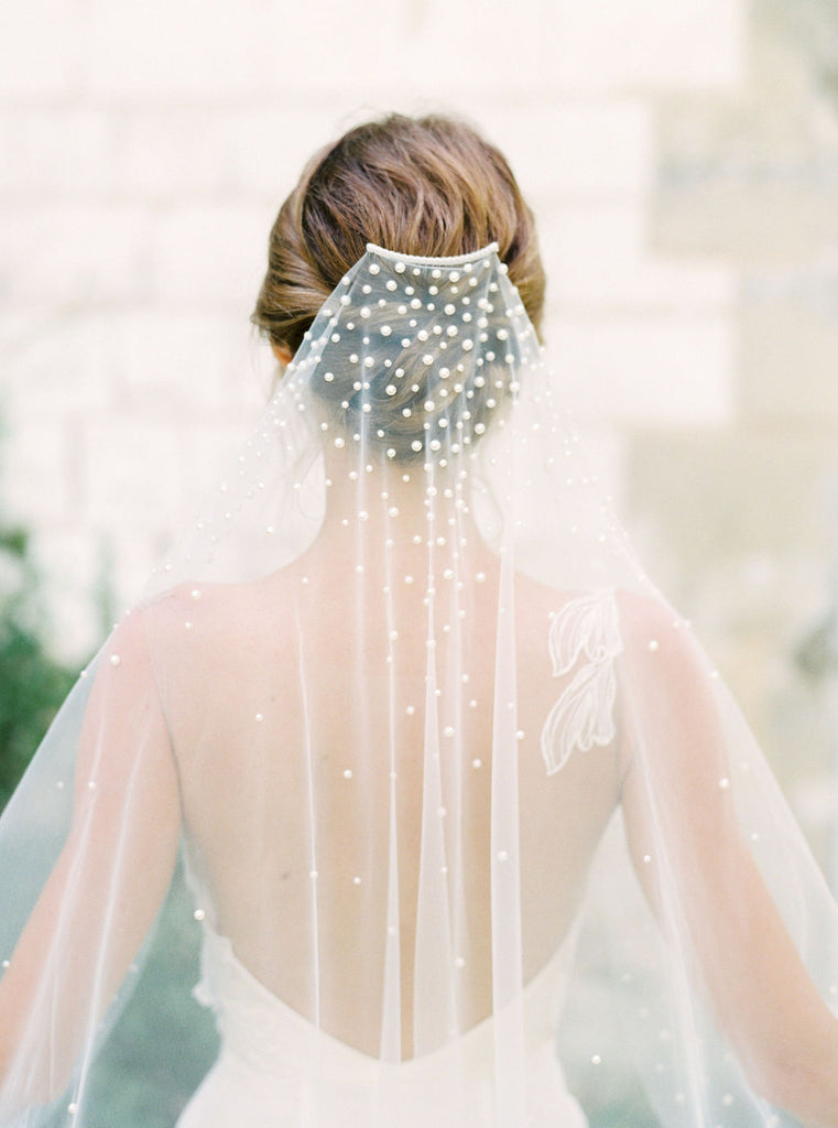 Pearl veil by Madame Tulle Australia