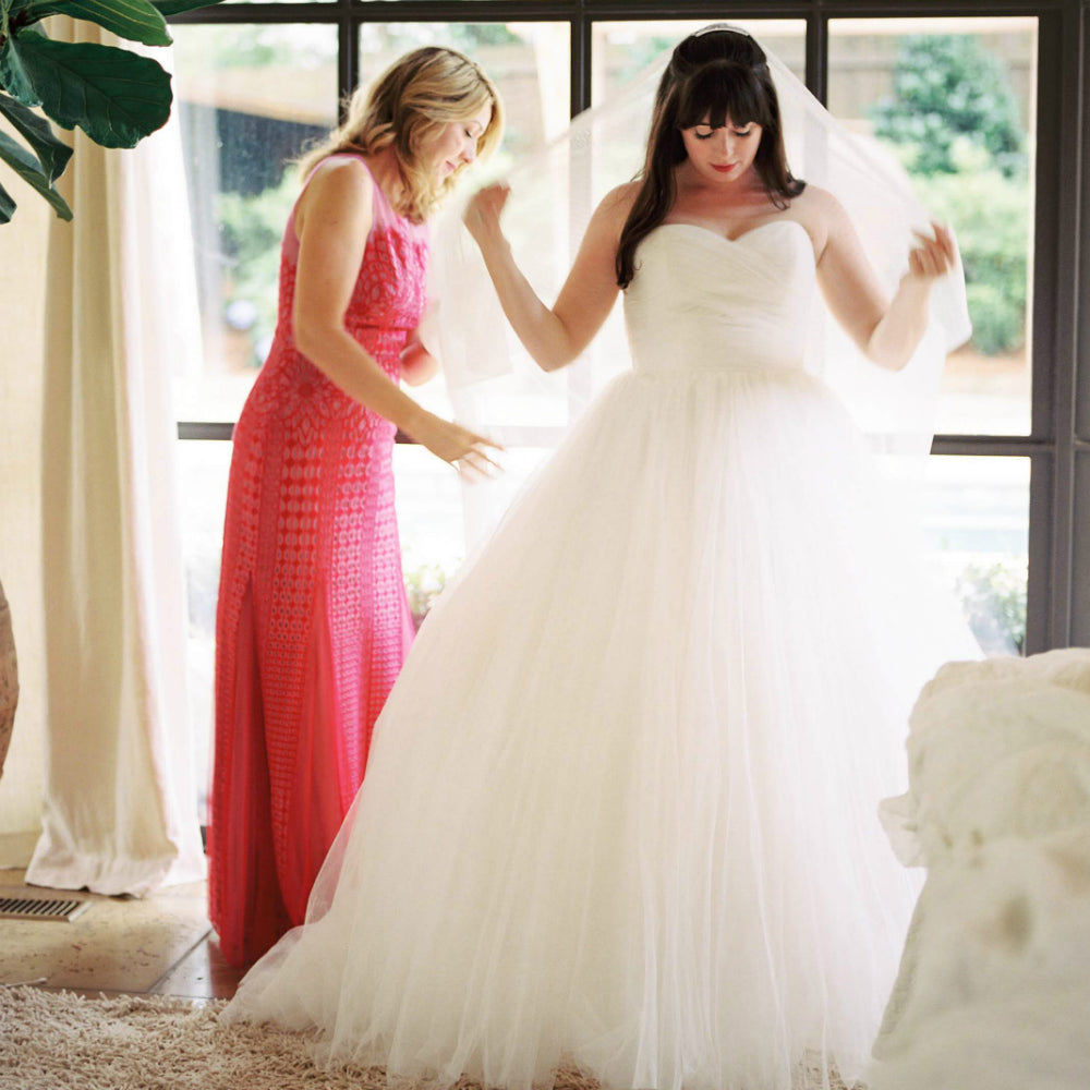 How To To Choose A Wedding Veil Find Your Perfect Veil Here Madame Tulle