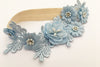 AMAYA | Blue Wedding Garter