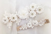 AMAYA | Ivory Wedding Garter Set