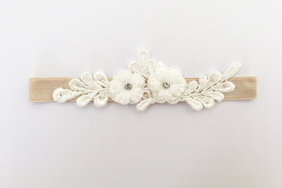 IVY | Ivory Wedding Garter