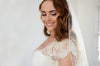 KARA | One Tier Veil with Soutache Edging