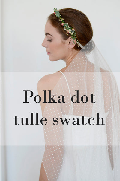 POLKA DOT Tulle Swatch