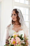 ADRIENNE | Lace Wedding Veil