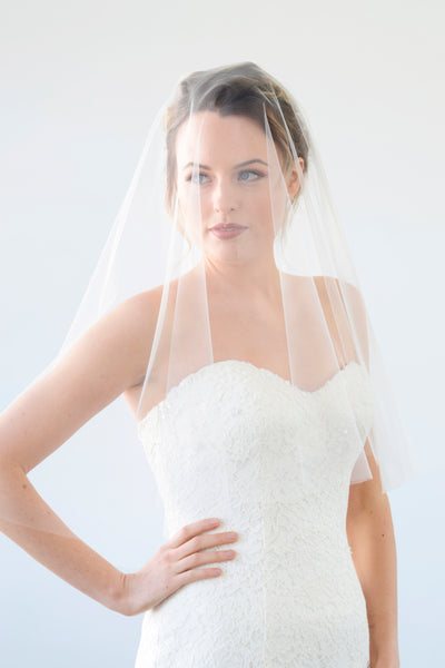 LEXI | Drop Veil in Elbow Length