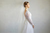 ALEXA | Two Tier Veil in Fingertip Length