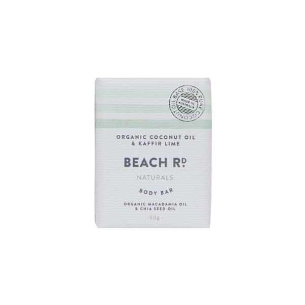 MINI BODY BAR | Organic Coconut Oil & Kaffir Lime (50g)