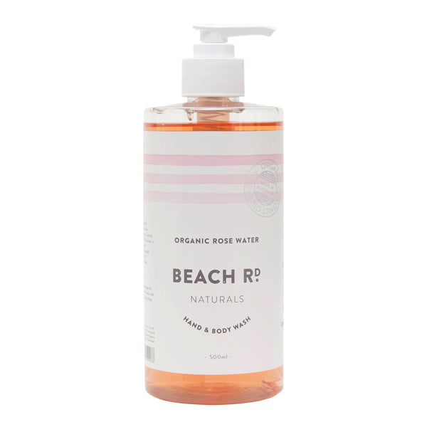 Hand & Body Wash | Organic Rose Water (500ml)