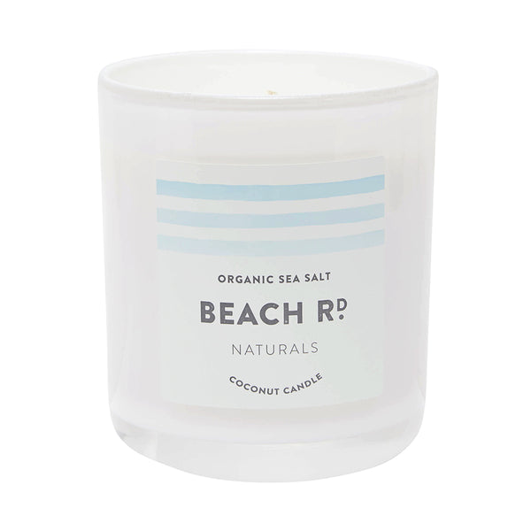 Organic Sea Salt Coconut Candle (300g)