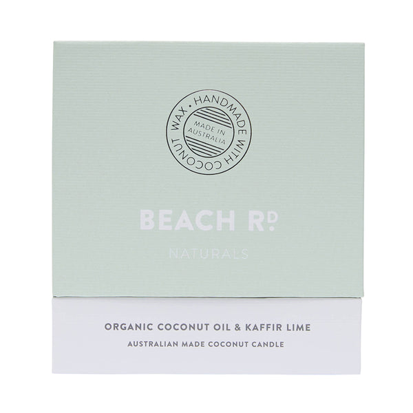 Organic Coconut & Lime Candle (300g)