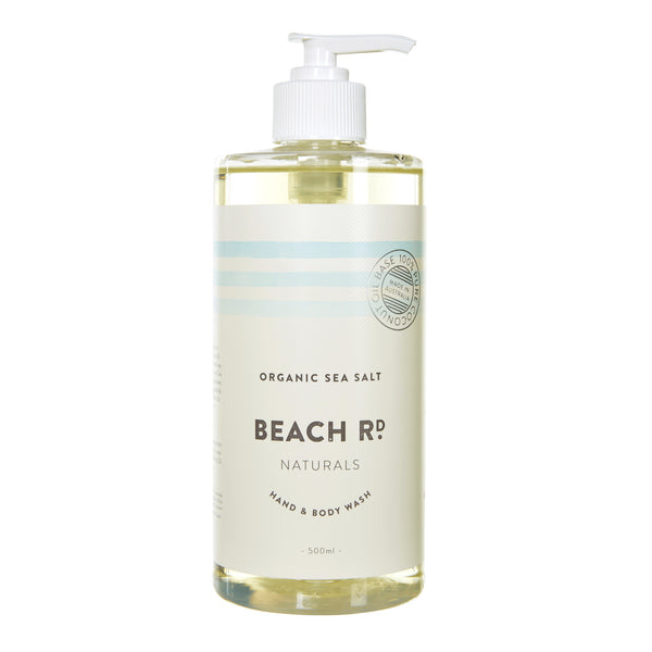 Hand & Body Wash | Organic Sea Salt (500ml)