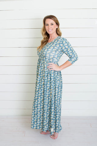 Swanky Lady-Most Wanted Maxi Dress-Dreamy Floral