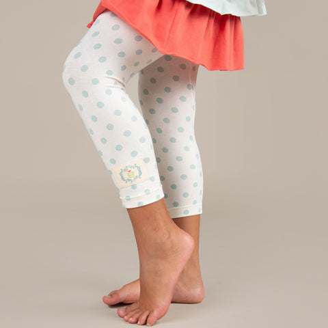 Perfection Leggings-Vintage Polka Dot