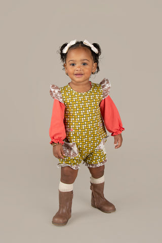 An Apple A Day Romper
