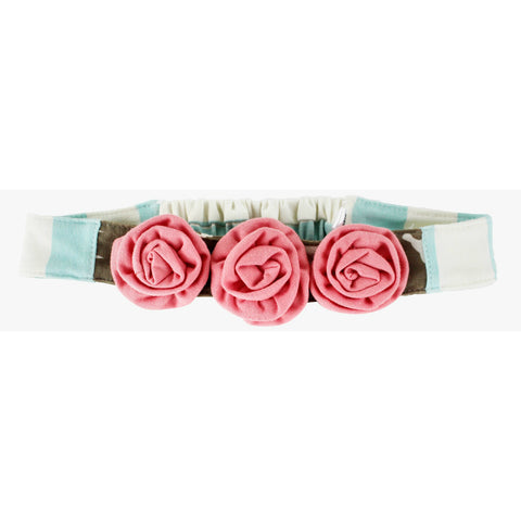 Rosette Headband-Fly High