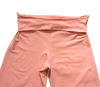 Adult Double Ruffle Capri's-Solid Peach Pearl