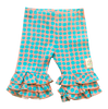 Infant Triple Ruffle Leggings-Polka Dot