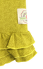 Infant Triple Ruffle Leggings- Citron Floral