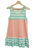 Adult Tiered Tunic-Aruba Stripe