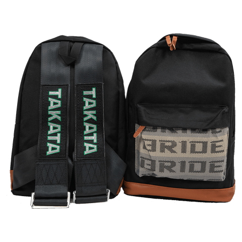 Black Tkta Backpack - tunedintokyo