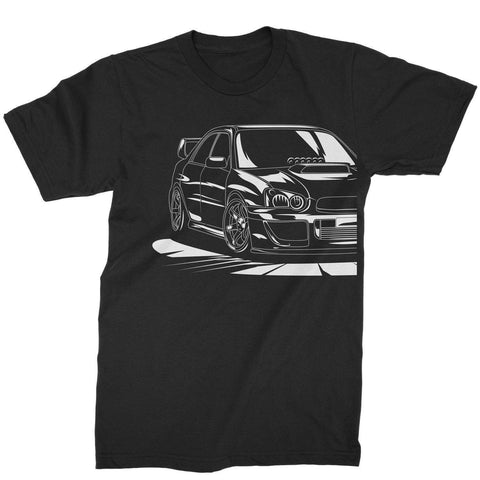 Subie Outline Tee - Tunedintokyo JDM Clothing