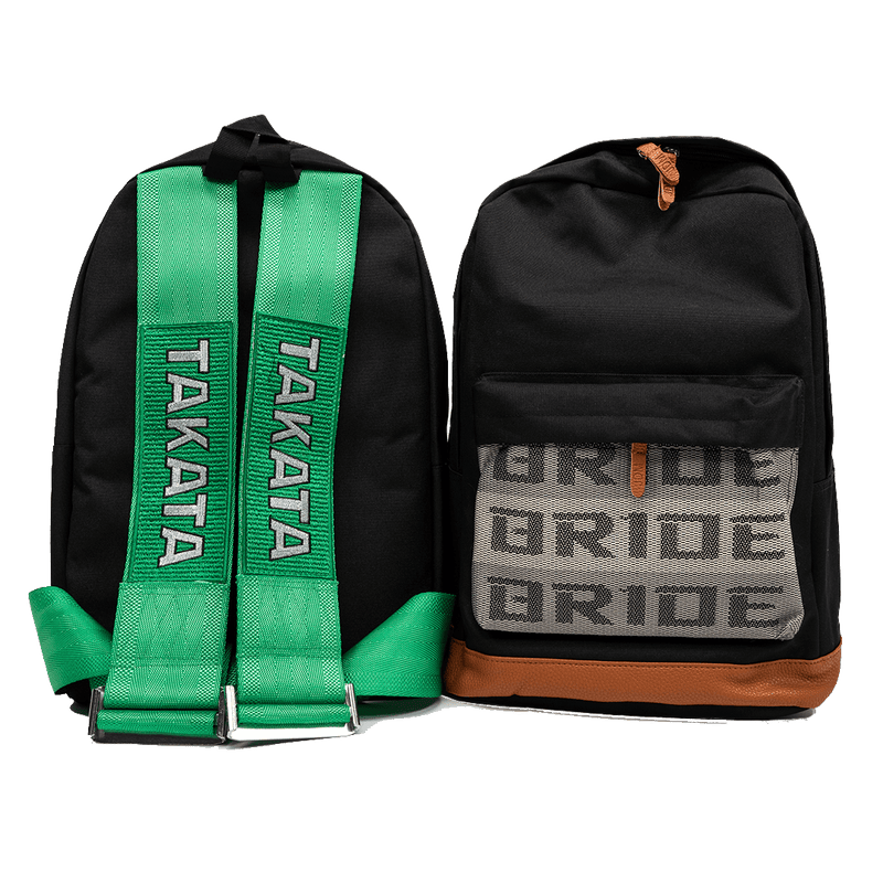 Green Tkta Backpack - tunedintokyo