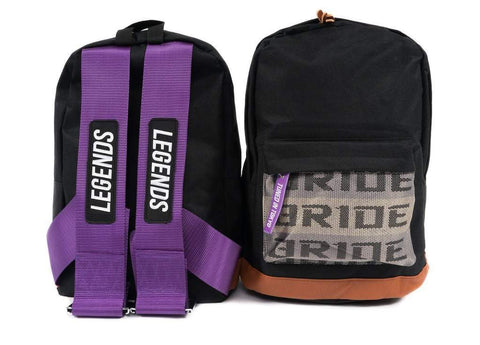 Legends Backpack Purple - tunedintokyo