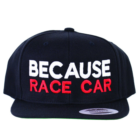 Because RaceCar Snapback - Tunedintokyo JDM Clothing