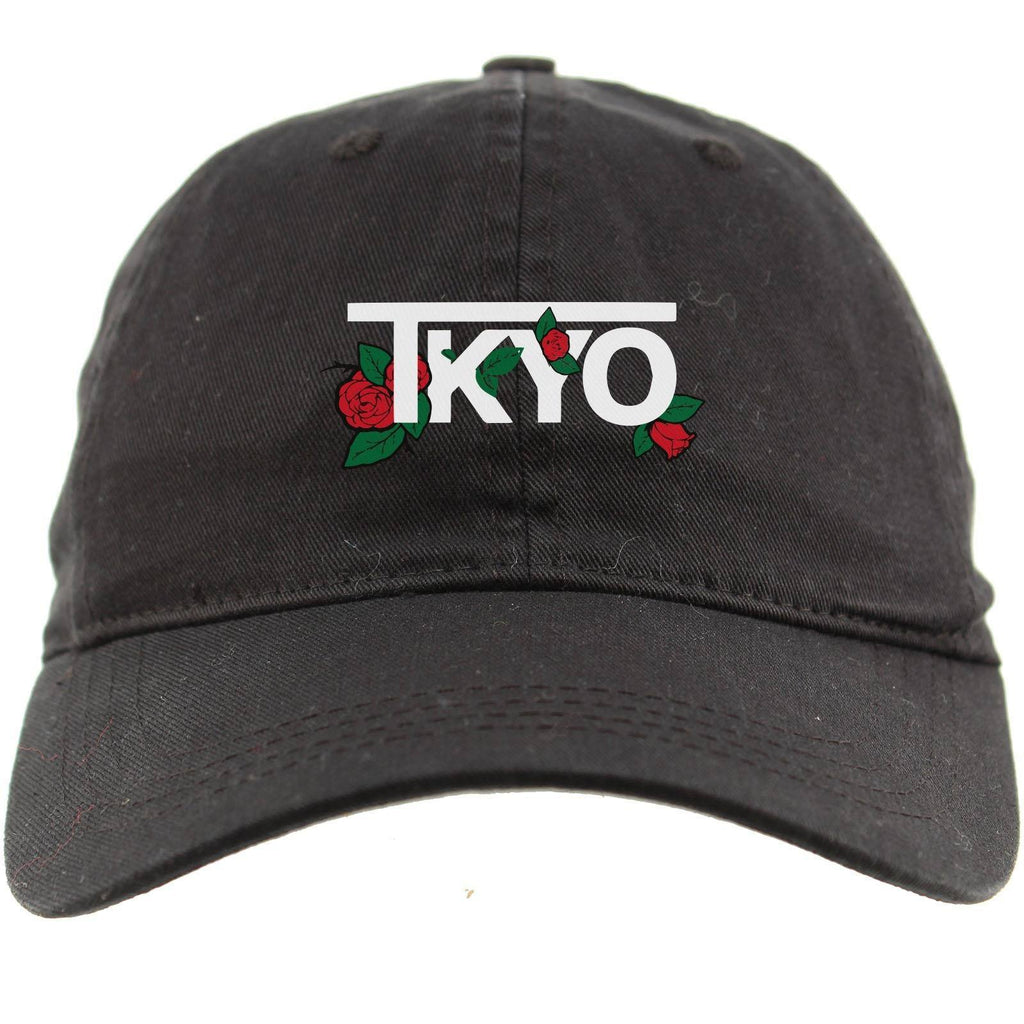 TKYO Rose Dad Hat - tunedintokyo