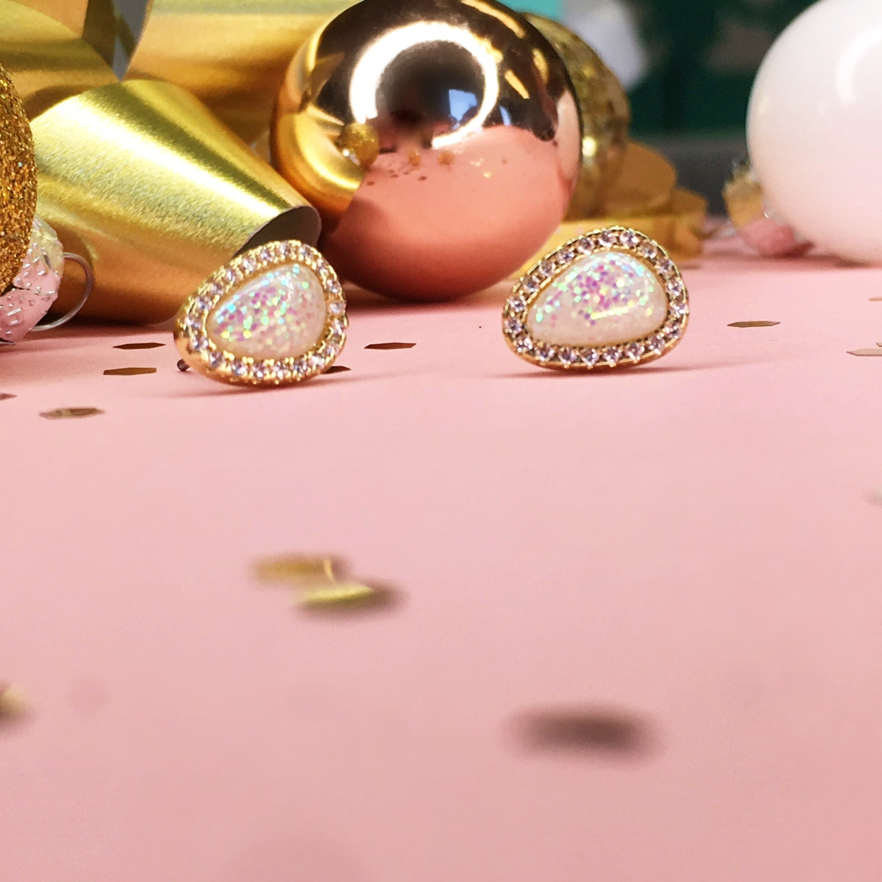 December Sneak Peek #2! Olivia Opal Earrings