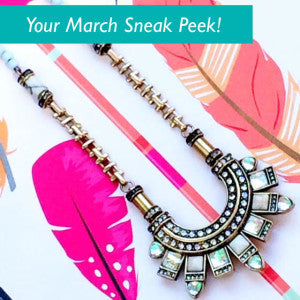 Your March Reveal! Color Pop!