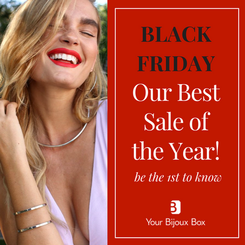 YOUR BIJOUX BOX BLACK FRIDAY JEWELRY SUBSCRIPTION BOX