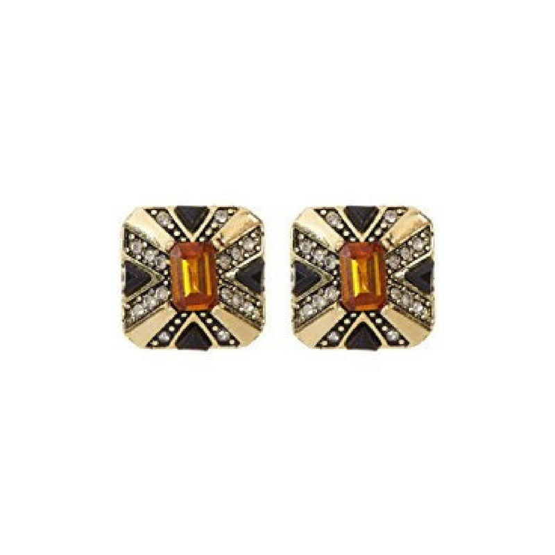 Art Deco Earrings by House of Harlow