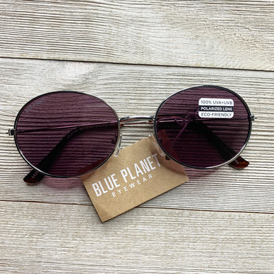 Blue Planet Gold Sunnies