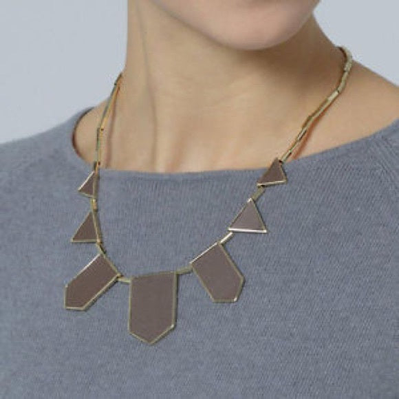 Grey Station Necklace by House of Harlow
