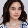 Tulum Necklace Silver - Jules Smith
