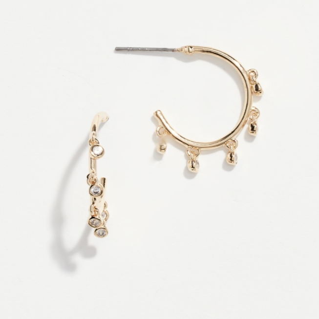 NEW! Dangle Hoops by Jules Smith