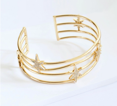 North Star Cuff by Jules Smith