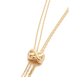Cory Knot Lariat Necklace by Jules Smith