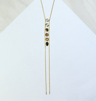Multi-Stone Onyx Necklace by Jules Smith